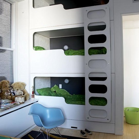 10 Space Saving Bedrooms with Work Spaces | Urban Splatter