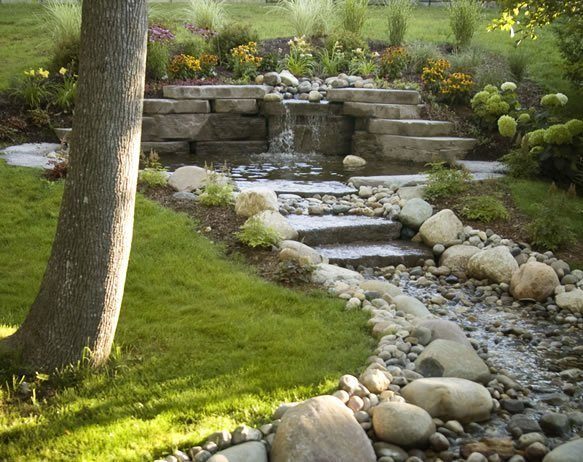 Build a Natural Waterfall Pond for your Garden | Urban ...