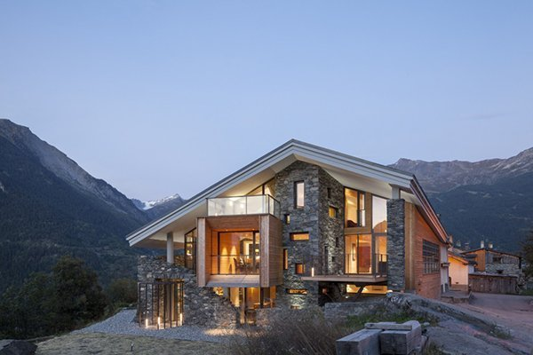 Beautiful House In The Mountains 45degreesdesign