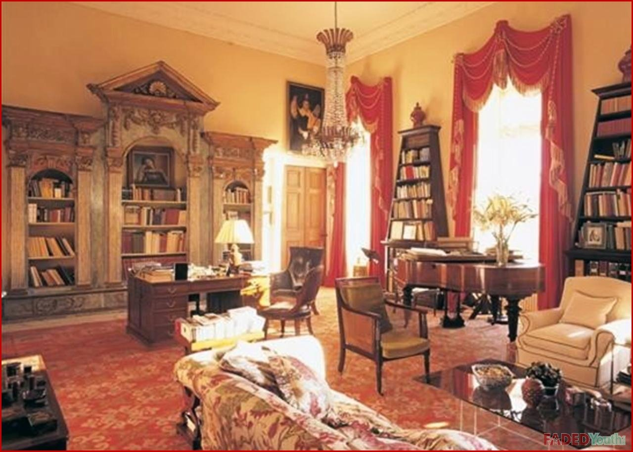 lady gaga scotland house interior 5