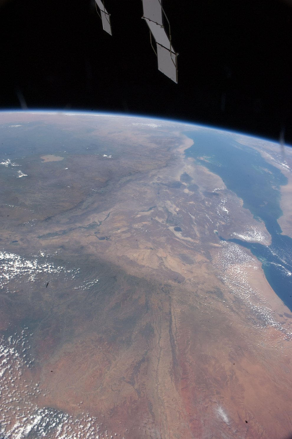 Ethiopia and the Red Sea.