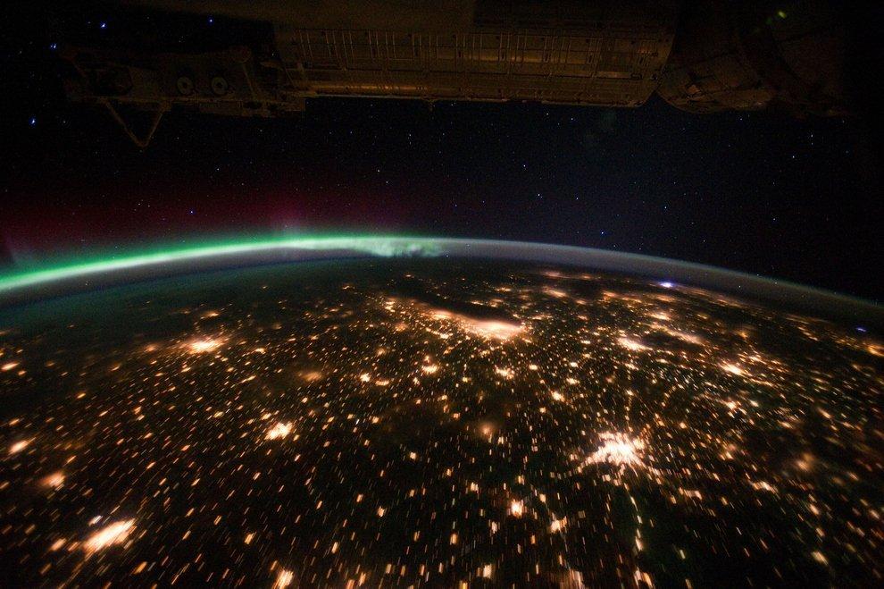 Midwest USA, Can see Illinois, Iowa, MN, MI, Missouri, Indiana