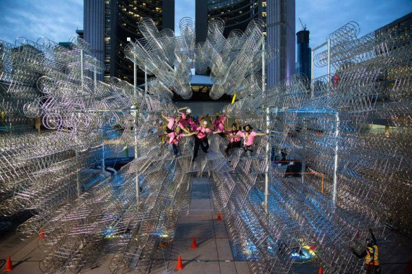 ai-wei-wei-forever-bicycles-nuit-blanche-toronto-2013-4-e1381777830311