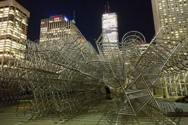 ai-wei-wei-forever-bicycles-nuit-blanche-toronto-2013-5-e1381777815785