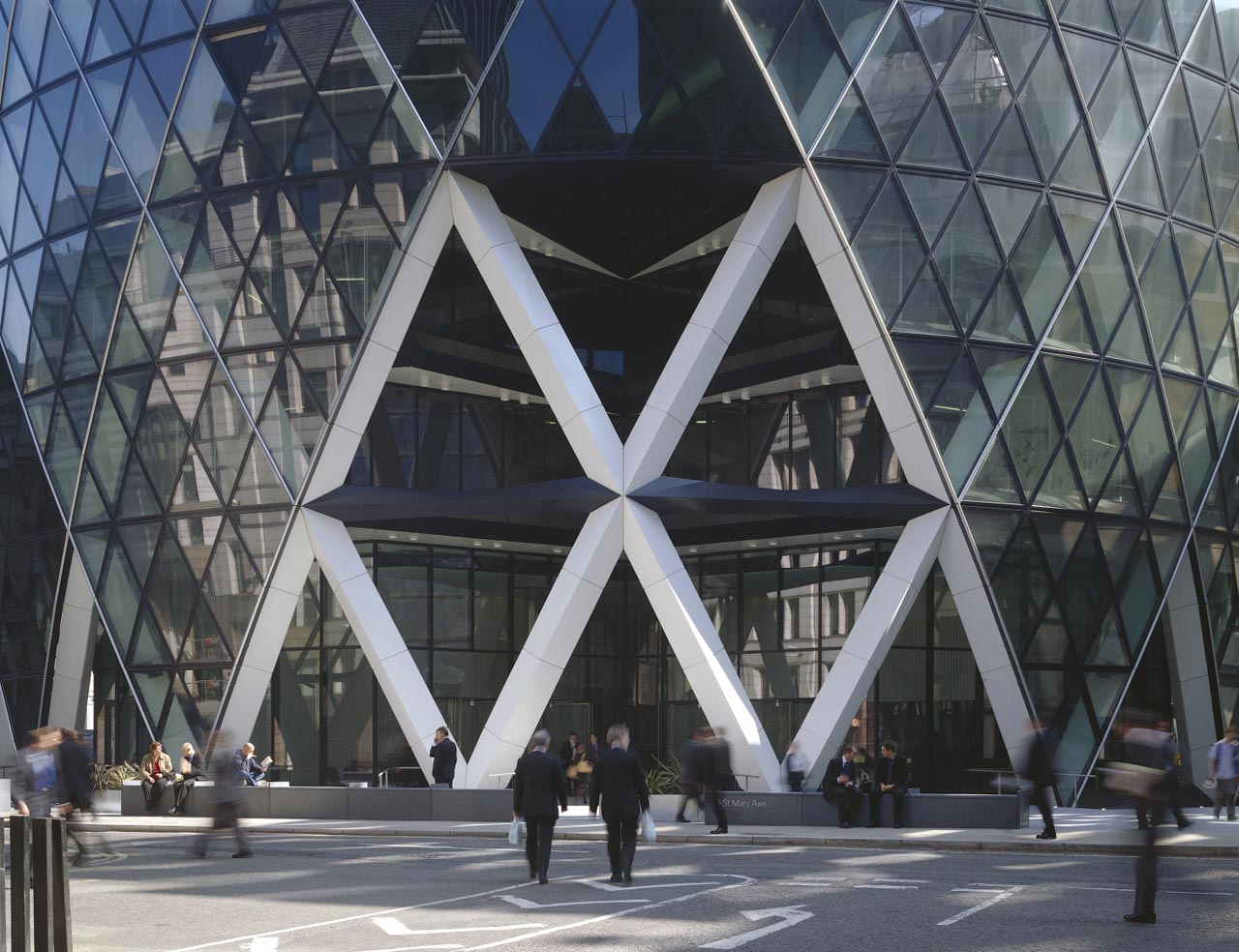 Modern Architecture In London 30 st mary axe modern architecture london | urban splatter