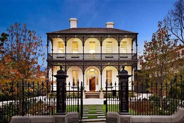 French influence. Source credit: http://freshome.com/2012/09/03/elegant-architecture-displayed-by-renovated-and-extended-victorian-house/