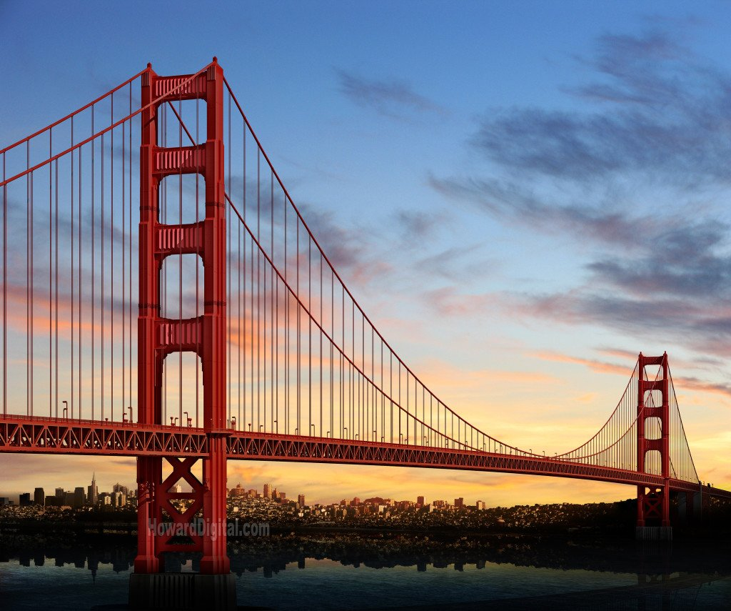 Golden-gate-bridge-sunset