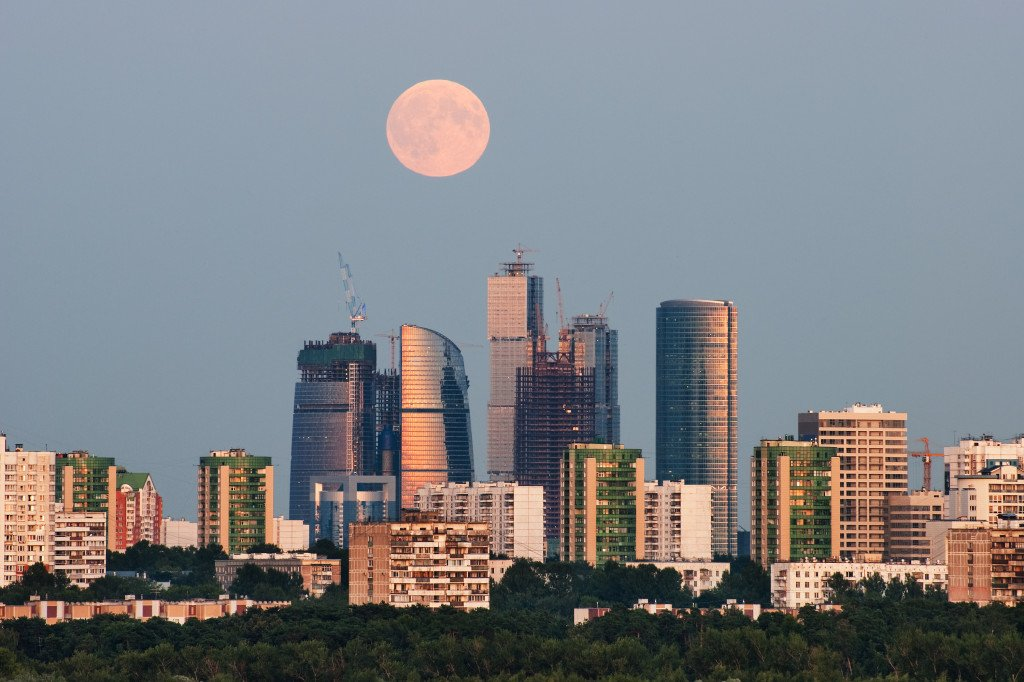 Moscow City - Augest 2009