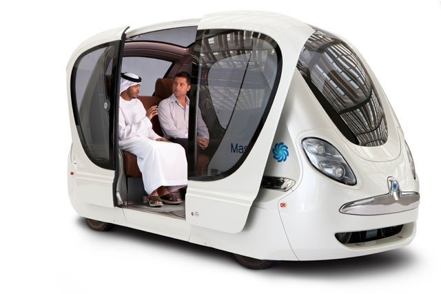Image-showing-the-Personal-Rapid-Transit-System-at-Masdar-City1