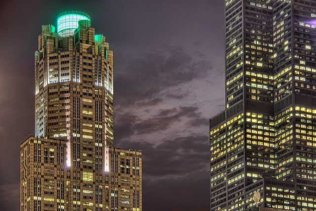 311 South Wacker Drive and Willis / Sears Tower Details - 2010