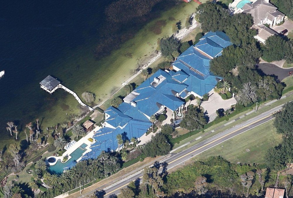 Shaquille o neal s massive florida house urban splatter for Shaquille o neal home