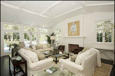 Harrison-Ford-LA-house-family-room
