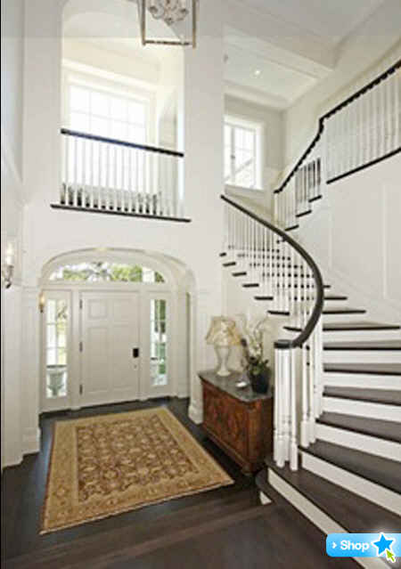 Harrison-Ford-LA-house-foyer-and-staircase