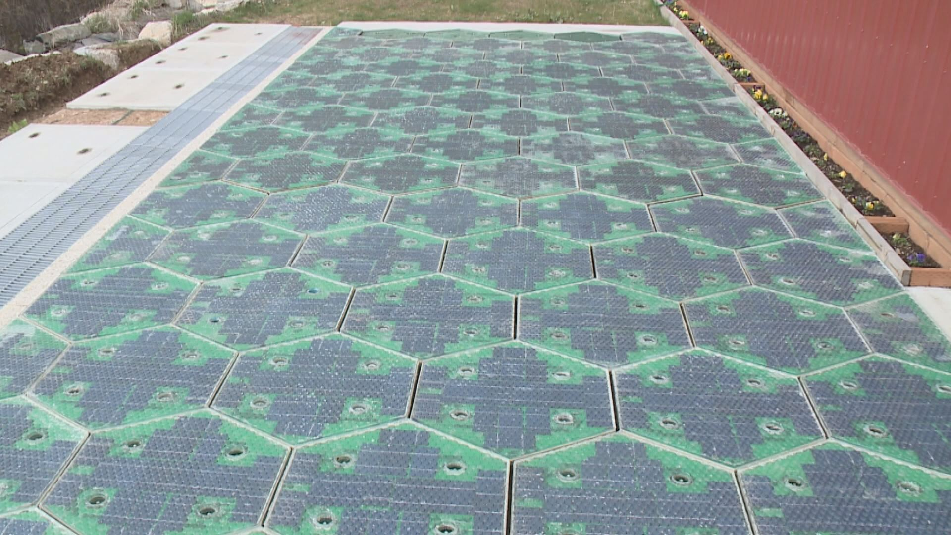 ... we will see more use of the solar road panels in the upcoming future