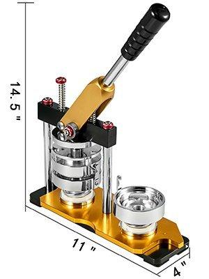 Button Maker,75mm,100 Sets,