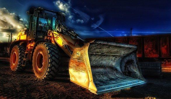 Excavator, Heavy Equipment, Construction