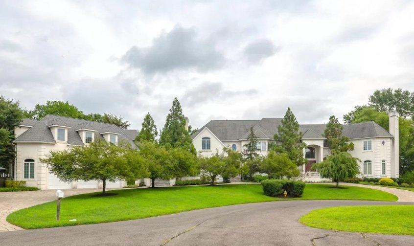 Terrell Owens house
